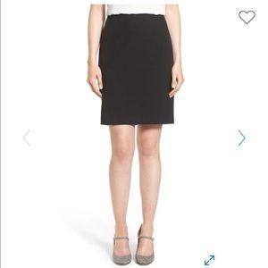 Halogen Ela Suit Navy Pencil Skirt